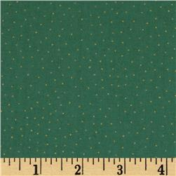Gatsby Metallic Dot Green