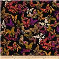 Loralie Designs Gypsy Chique Butterflies Black