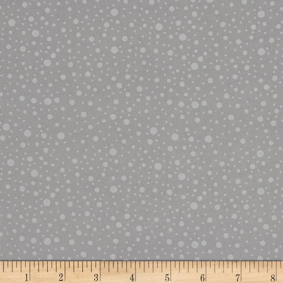 Silver Linings Dotty Dots Gray