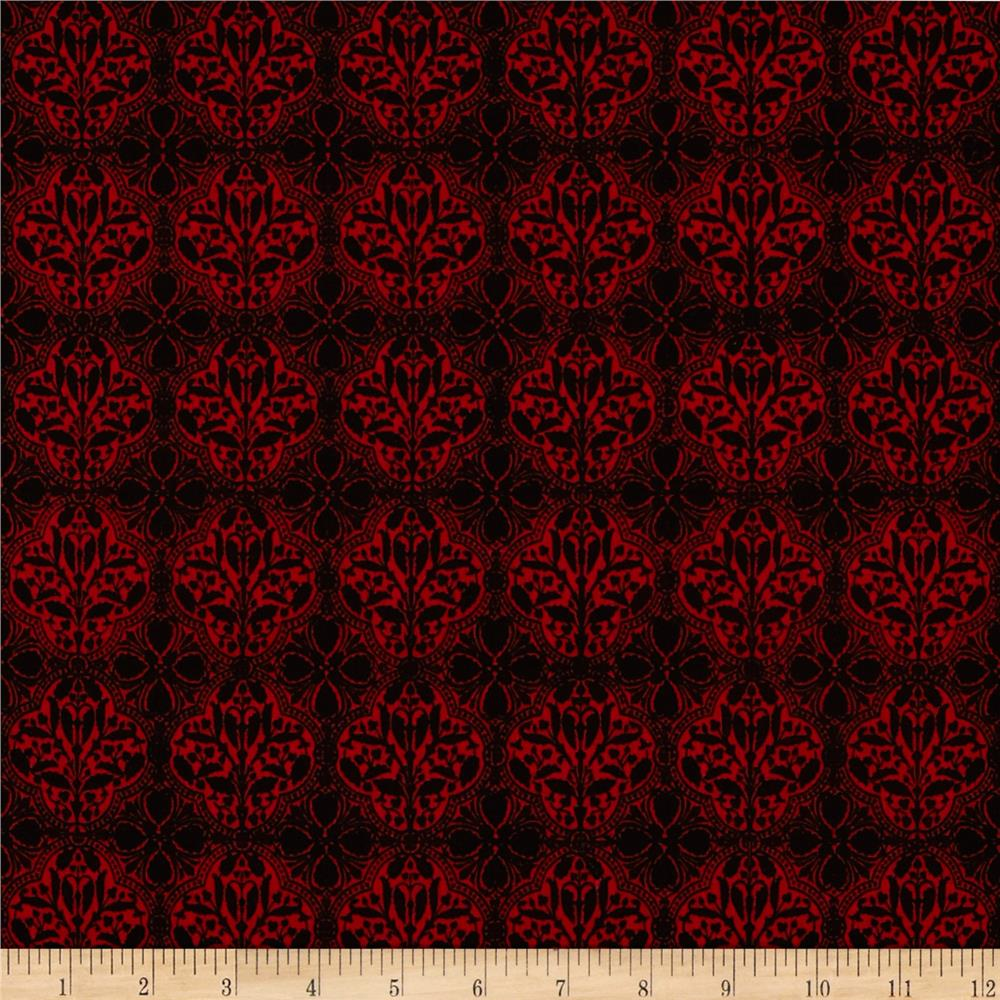 Riley Blake Serenity Damask Red