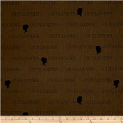 Outlander Large Logo Brown
