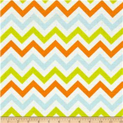 Moda Mixed Bag Flannel Zig Zag Sprouts