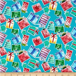 Joyful Holiday Gifts Galore Multi Fabric