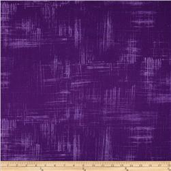 Michael Miller Painters Canvas Purple