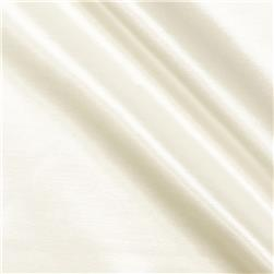Rayon Poly Satin Shantung White Fabric