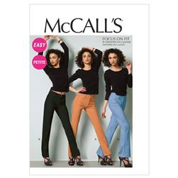 McCall's Misses'/Miss Petite Jeans Pattern M6610 Size A50