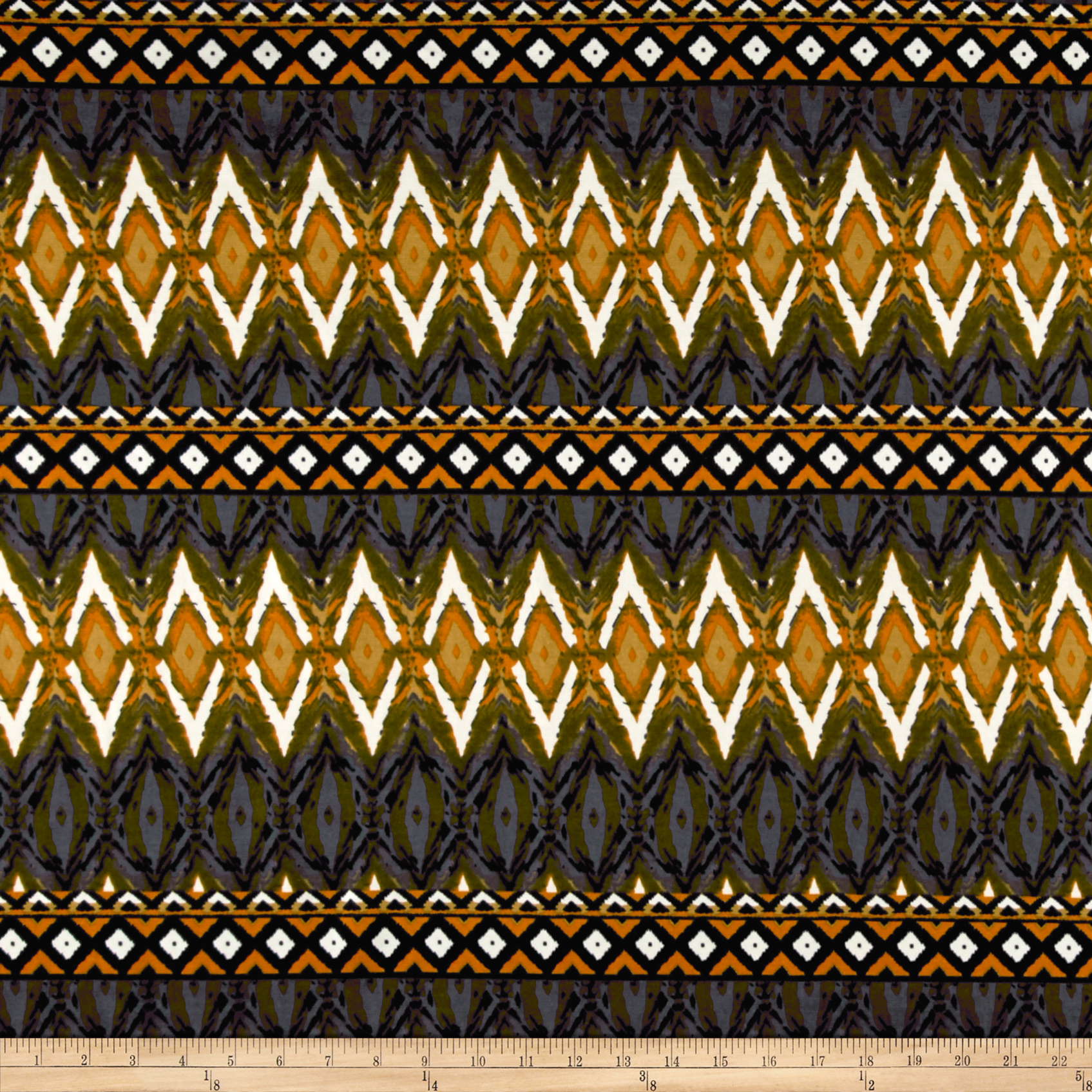 Ponte de Roma Authentic Tribal Grey Fabric by Bellagio in USA