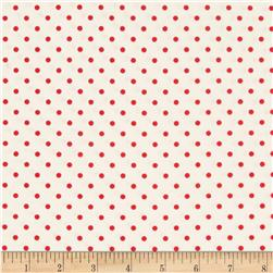 Timeless Treasures Dots Cherry Fabric