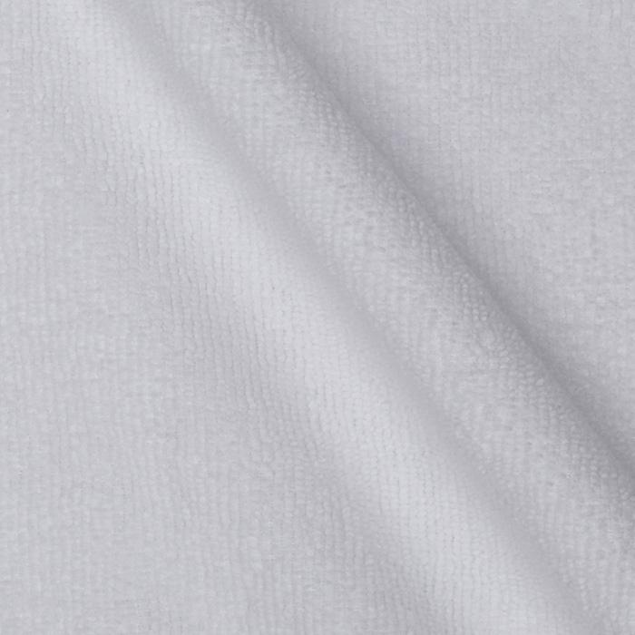 Kaufman 9 oz. Microfiber Terry Cloth Knit White