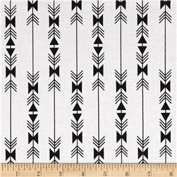 Riley Blake Four Corner Stripe White