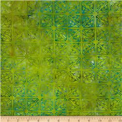 Artisan Batiks: Spring Mod Abstract Chartreuse