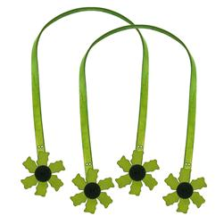 Cindy's Purse Straps 24'' Flower Green