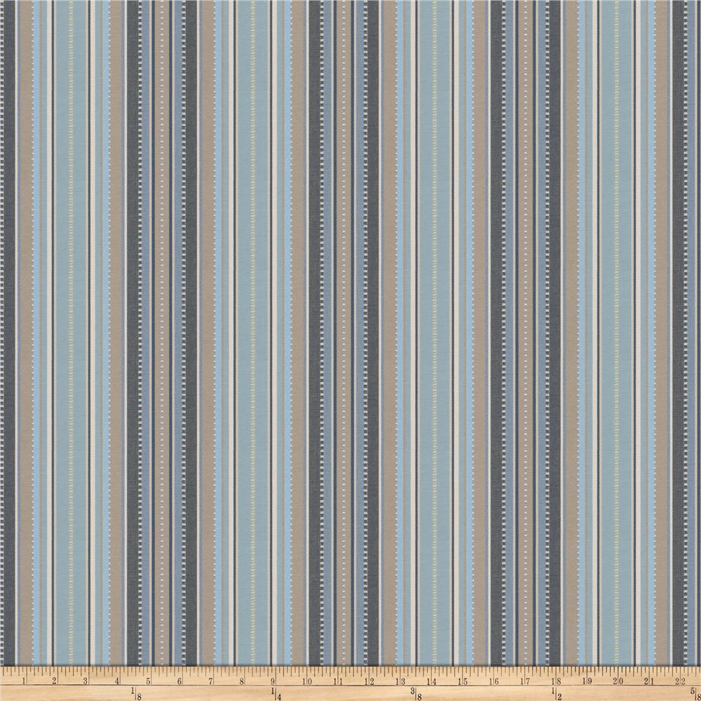 Fabricut Deck Stripe Jacquard Seaside