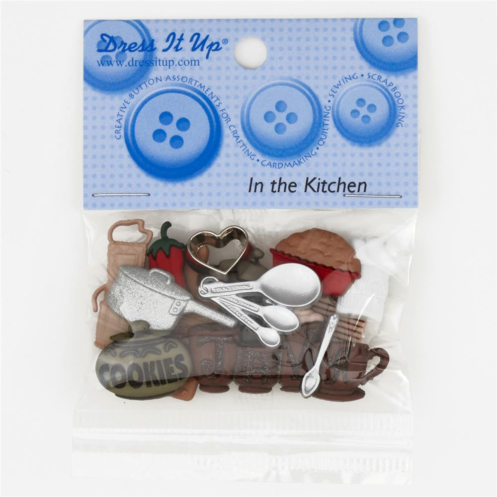 Dress It Up Embellisment Buttons In The Kitchen