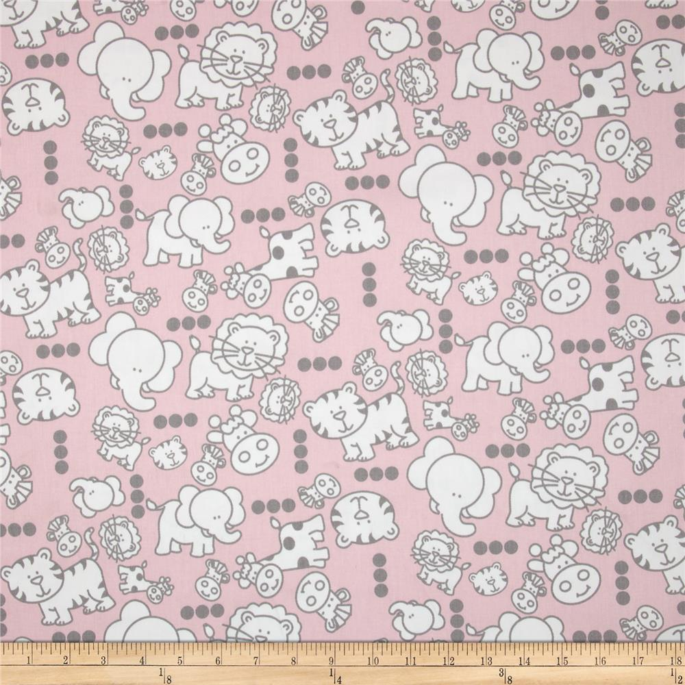 Premier prints mini babies twill bella storm for Grey baby fabric