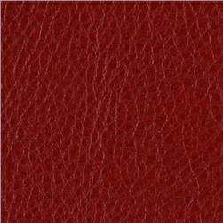 Faux Leather Fabric Calf Red