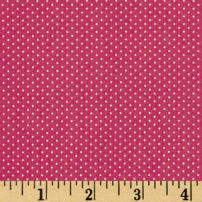 Pin Dot Dark Rose