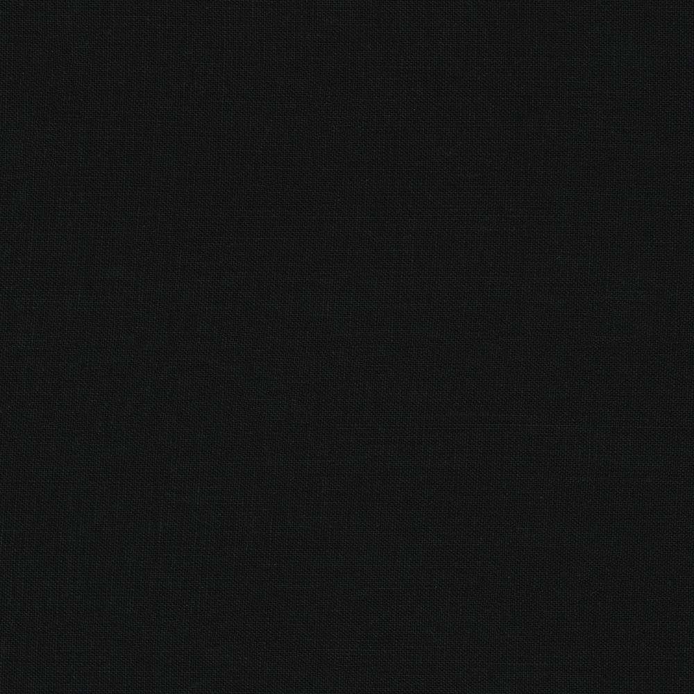 Kaufman waterford linen black discount designer fabric for Black fabric