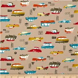 Seven Islands Classic Cars Canvas Beige