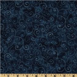 Moda Marble Swirls (9908-31) Windsor Blue Fabric