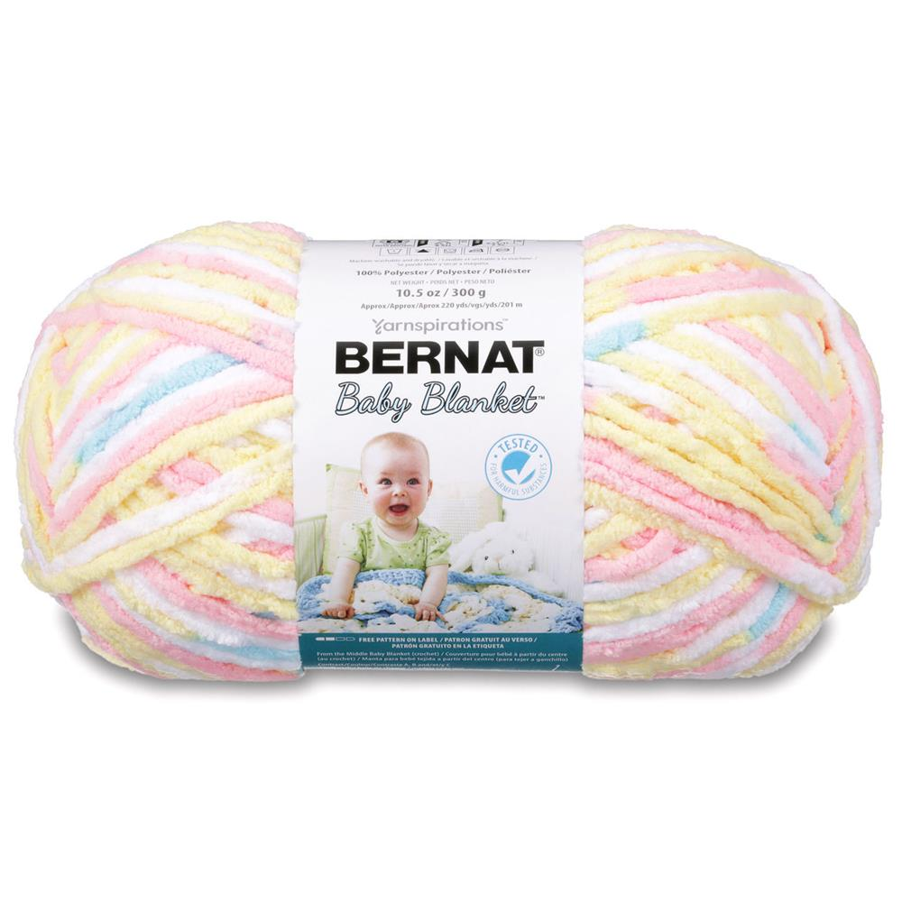 Bernat Baby Blanket Big Ball Yarn (04616) Pitter