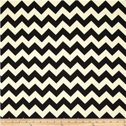 Riley Blake Home Décor Chevron Black