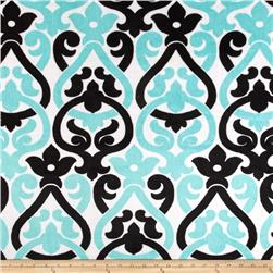 Premier Prints Deco Minky Cuddle Black/Aruba