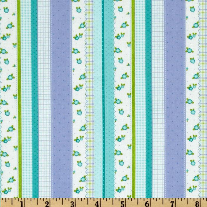 Once Upon A Time Stripe Periwinkle/Blue