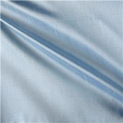 100% Silk Shantung Powder Blue