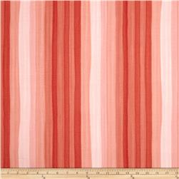 Moda Spectrum Ombre Stripes Persimmon