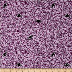 Riley Blake Halloween Magic Halloween Web Purple