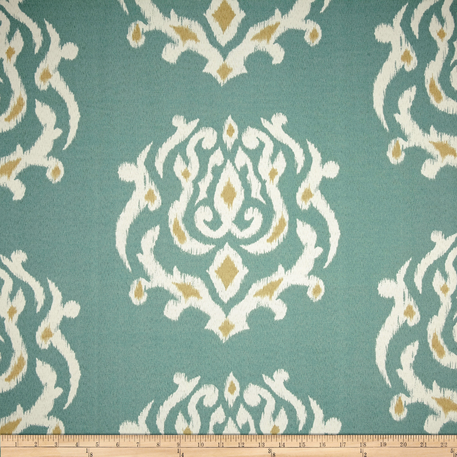 Terrasol Indoor/Outdoor Pamilla Ikat Cloud Fabric