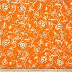 Clean Living Floral Orange