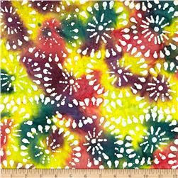 Indian Batik Sarasota Circles Multi