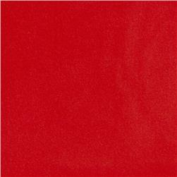 Harper Home Cotton Velvet Red