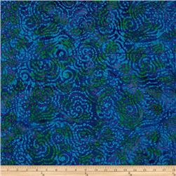 Indian Batik Jewel Box Geo Blue