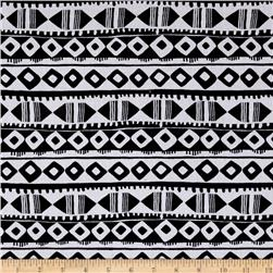 Apparel Tribal Lawn Black/White