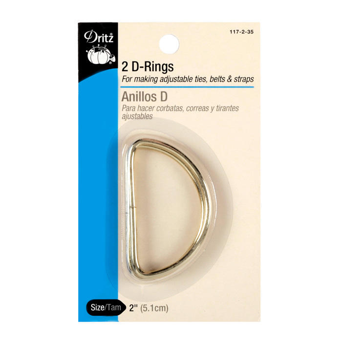 D-Rings Gold 2'' by Notions Marketing in USA