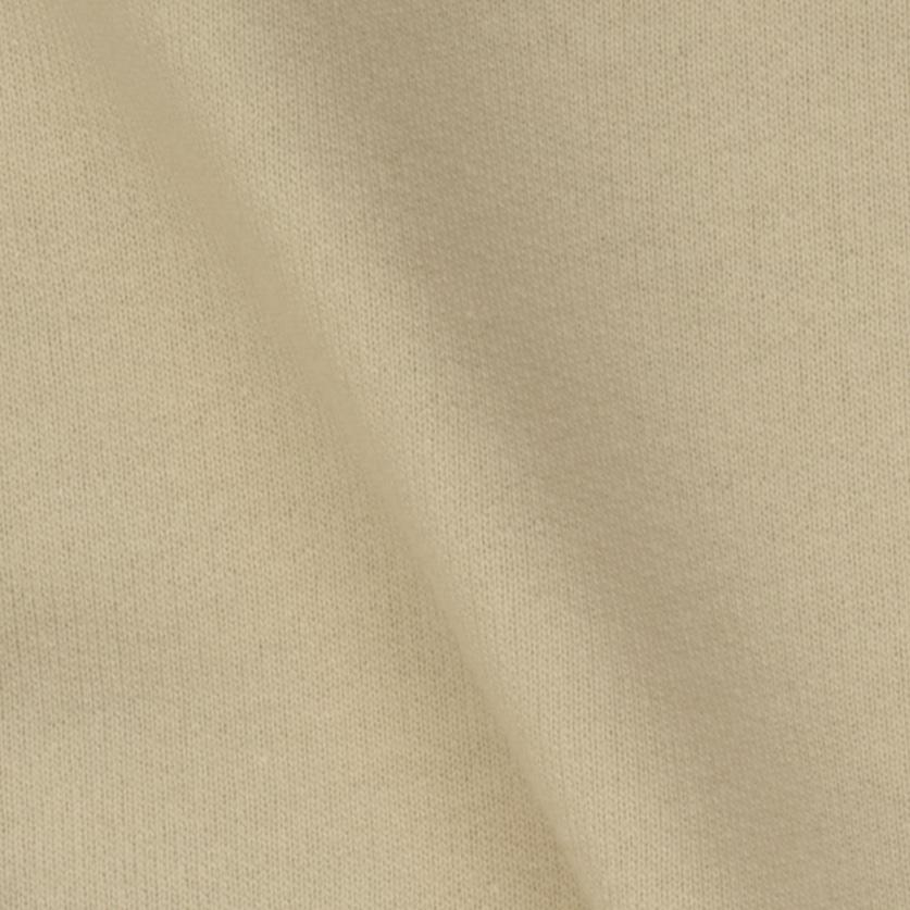 Organic Cotton French Terry Knit Ivory