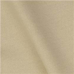Organic Cotton French Terry Knit Ivory Fabric