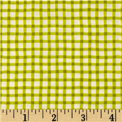 Moda Happy Sunshine Wonky Gingham Sprout