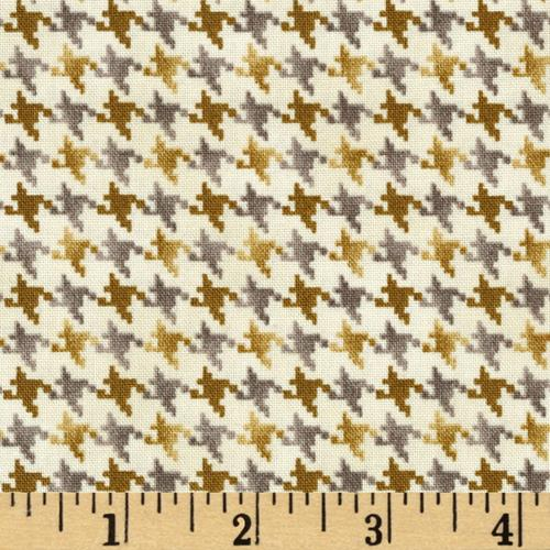 Nature's Glory Houndstooth Beige