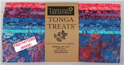Timeless Treasures Tonga Treats Carnivale 10-Inch Squares
