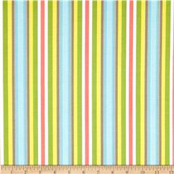 Riley Blake Priscilla Stripe Green