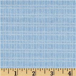 Aunt Polly's Flannel Medium Checkered Light Blue/White