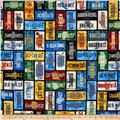 Timeless Treasures Home Sweet Home License Plate Multi