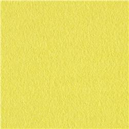 Cloud 9 Organic Solid Flannel Citron Fabric