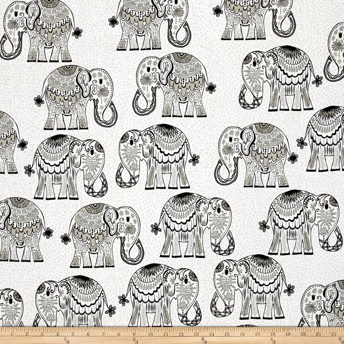 Valori Wells Jules & Indigo Large Elephants Graphite