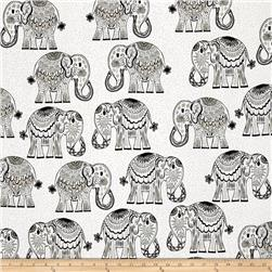 Valorie Wells Jules & Indigo Large Elephants Graphite