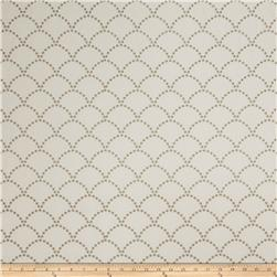 Jaclyn Smith 02607 Embroidered Linen Mushroom